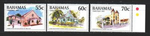 Bermuda. 1995. 884-86 from the series. Churches, christmas. MNH.