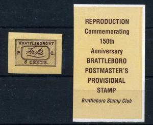 5X1 Brattleboro Reproduction