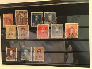 Argentina official overprint  stamps R21789