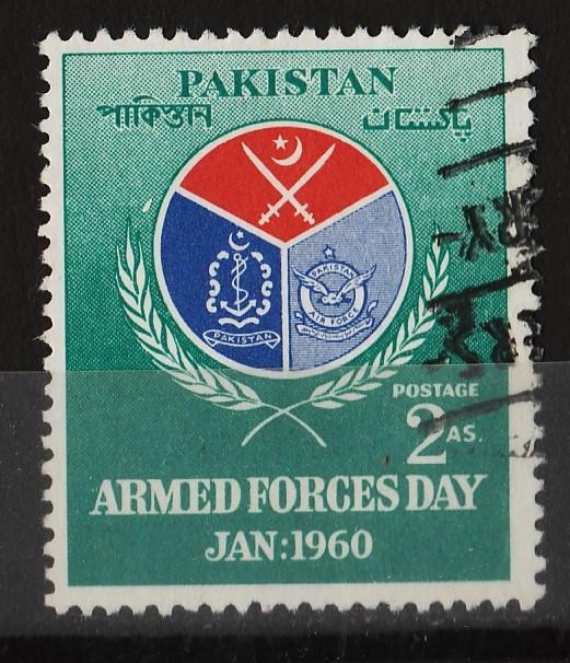 Pakistan 1960 Armed Forces Day 2A (1/2) USED Sc(106)