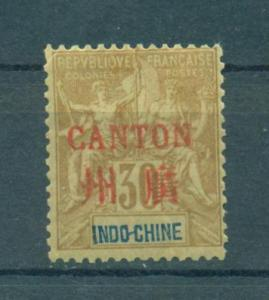 France Offices - China - Canton sc# 9 mh cat value $35.00