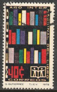 MEXICO 1048 International Book Year. Used. (261)