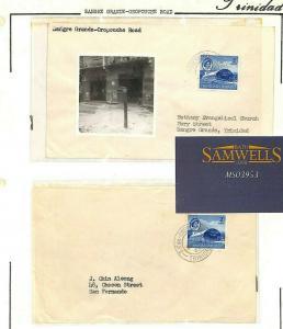 TRINIDAD & TOBAGO Postmarks *Sangre Grande Oropuche Rd* 1982 MS3953
