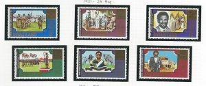 Swaziland  mnh sc. 385 - 390