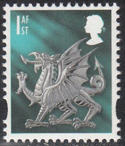 Great Britain, Wales 21 MNH