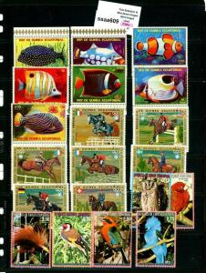 PKStamps - ssaa609 - Equatorial Guinea - Mini Lot - Check Out Image