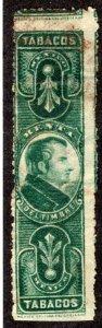 TA 41 | T 21, Tobacco -1899 Morelos, p.11, Engraved, Green
