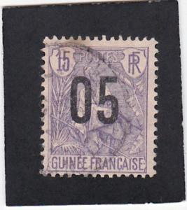 French  Guinea  #   57   used