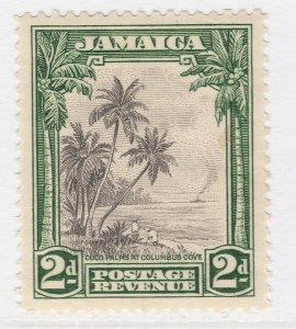 British Colony Jamaica 1932 2d Brown Wmk Mult Script CA MH* SG 111 A22P19F8956