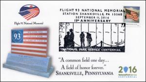 2016  16-372, Flight 93 National Memorial, September 11, Shanksville PA