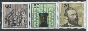 GERMANY SC# 1420a-c F-VF MNH 1984