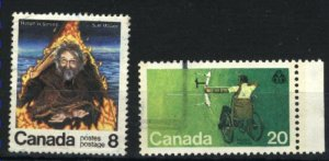 Can #694-95   -1   used VF 1976 PD