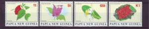 J21898 Jlstamps 1996 png set mnh #907-10 flowers