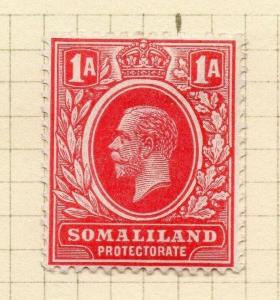 Somaliland Protectorate 1912 Early Issue Fine Mint Hinged 1a. 297810