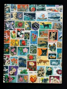 Wordwide Old Stamp Collection Lot of 1000 MNH MH Used Vintage Stock Book Album