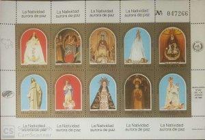 O) 1985 VENEZUELA, VIRGIN OF PEACE - DIVINE SHEPERD - CHIQUINQUIRA - COROMOTO