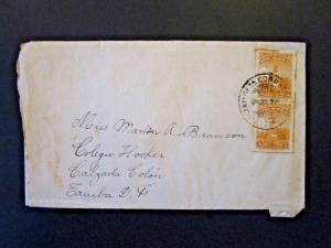 Mexico 1928 Cover to USA w/ Enclosed Letter - Z5424