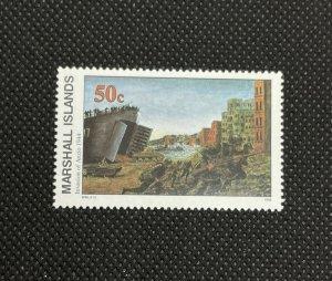 1994 Marshall Islands Stamp SC#479 50c WWII Invasion Of Anzio, MNH