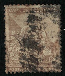1896-1898, Hope, 2 pence, South Africa (T-9218)