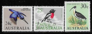 11940 Australia 409 - 411 mnh 2017 SCV $17.35  Birds  11940..