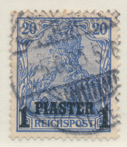 Germany, Offices In Turkey Stamp Scott #26, Used - Free U.S. Shipping, Free W...