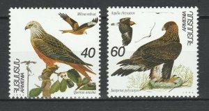 Armenia 1994 Birds Eagles 2 MNH stamps