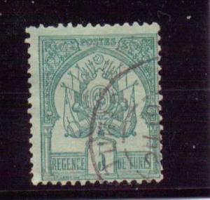 Tunisia  Scott#  11  Used