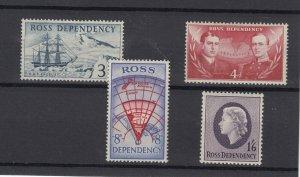 Ross Dependency 1957 Set SG1/4 MNH JK2418