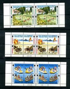 Jersey 617b,621b,625b Mint NH Booklet Panes