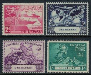 Gibraltar #123-6*  CV $6.75