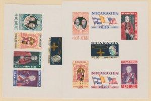 Nicaragua Scott #823a-C436a Stamp - Mint NH Souvenir Sheet