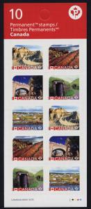 Canada 2968a Booklet MNH - UNESCO World Heritage Sites, Dinosaur Park