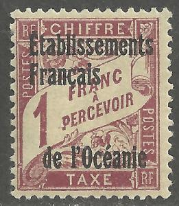 FRENCH POLYNESIA SCOTT J7