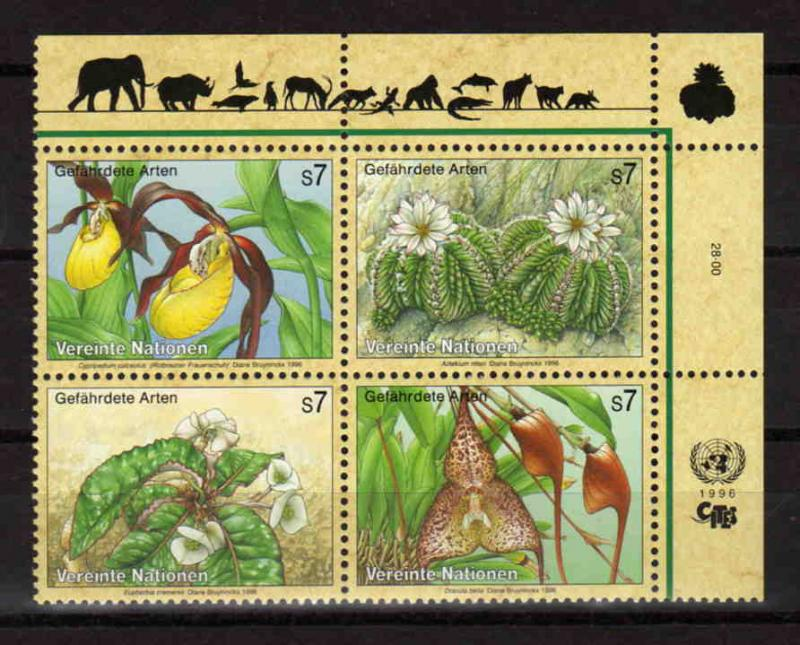 United Nations Vienna - endangered species, MNH, Mi 205-208