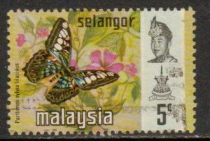 Malaya-Selangor  #130  used  (1971) c.v. $0.30