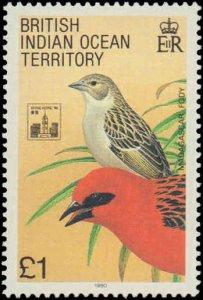 1994 British Indian Ocean Territory #145-146, Complete Set(2), Never Hinged