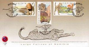 Namibia - 2019 Large Felines FDC
