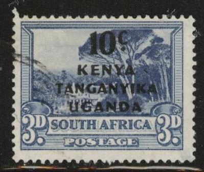 Kenya Uganda and Tanganyika KUT Scott 87a Used