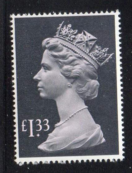Great Britain Sc MH171 1984 £1.33 Machin Head stamp mint NH