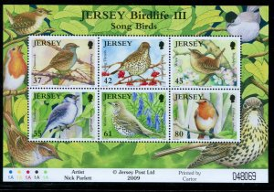 Great Britain - Jersey 2009 Sc 1394a Migrating Birds CV $11
