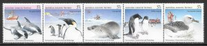 Australian Antarctic Territory L76 Environment Conservation strip MNH (lib)