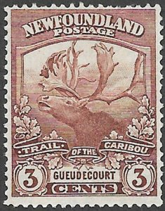 Newfoundland Scott Number 117 FVF H