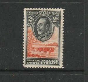 Bechuanaland 1932 GV Def 2/- MM SG 106, see notes