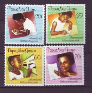 J21905 Jlstamps 1989 png set mnh #707-10 letter writing