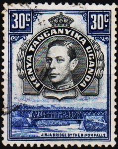 K.U.T. 1938 30c S.G.141b Fine Used