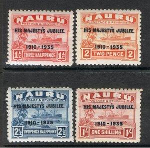 NAURU 1935 SILVER JUBILEE