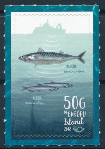 [I1385] Iceland 2012 Fishes  good stamp very fine adhesive