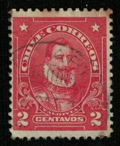 Chile, Pedro de Valdivia, 2 centavos (Т-6568)