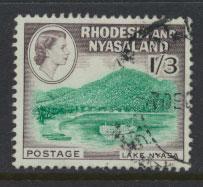 Rhodesia & Nyasaland SG 26 Used