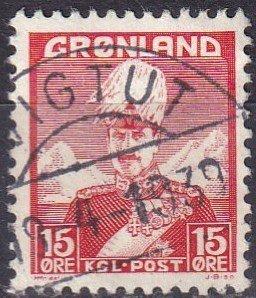 Greenland #5  F-VF Used   (V4849)